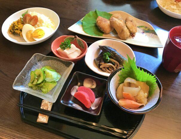 Beautiful Japanese meal