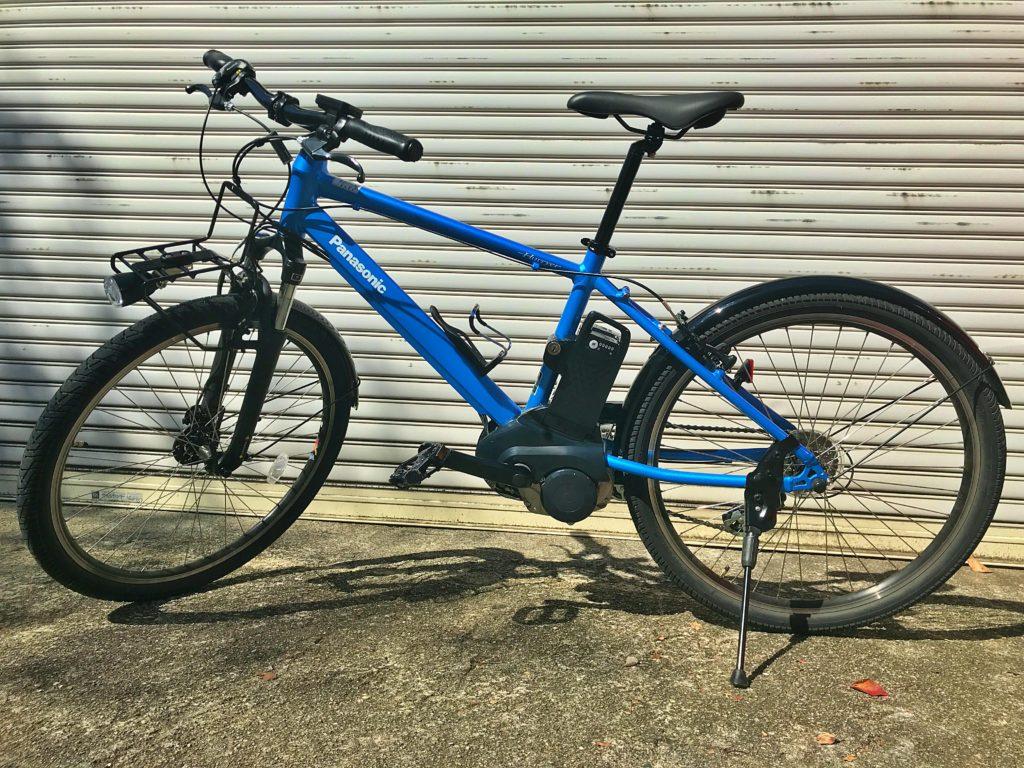 パナソニックのアシスト自転車ハリヤ