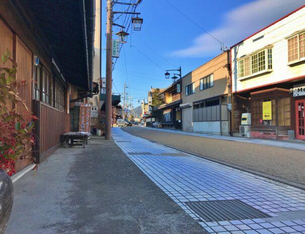 飛騨街道萩原宿